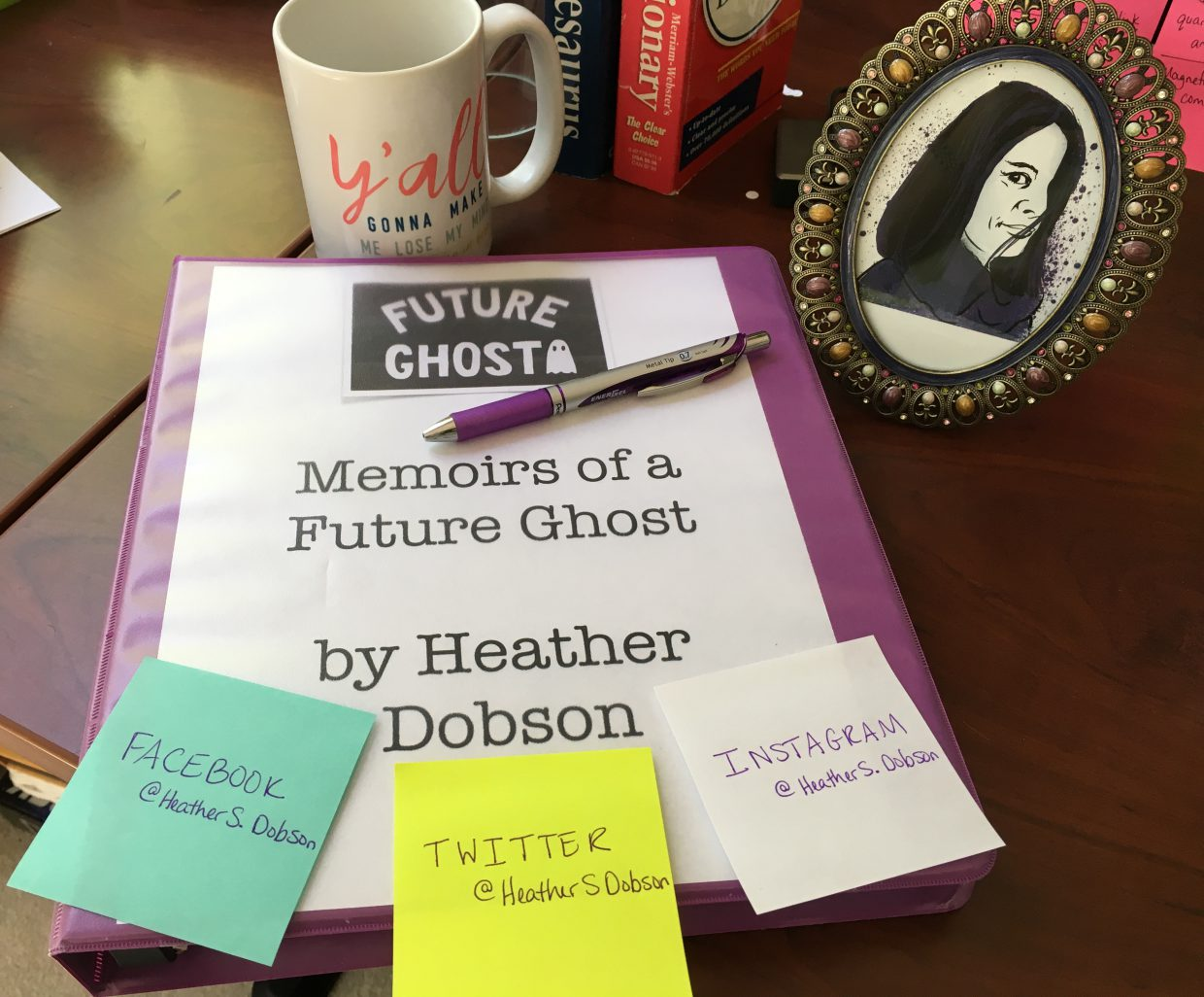 Heather S. Dobson, Author